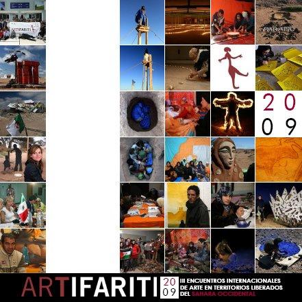 Cartel Artifariti 2009