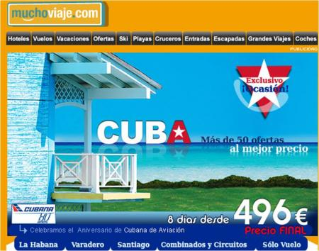 Oferta a Cuba