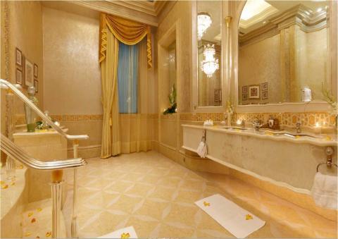 Emirates Palace Abu Dhabi, al más puro lujo asiático