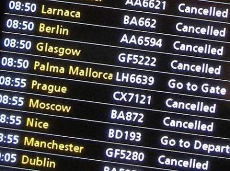 Viajes cancelados