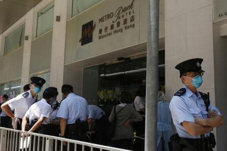 Cuarentena en el Metropark Hotel de Hong Kong