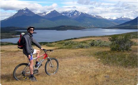 Cordillera de los Andes + bicicleta