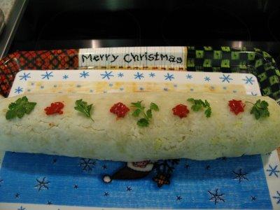 Receta para estas fiestas: Rollo de Navidad