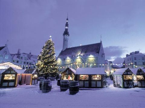 Navidades de cuento en Estonia