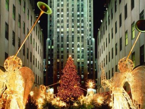 De visita y compras por Nueva York, en Navidad