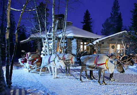 Mejor destino navideño: Rovaniemi, el pueblo de Papá Noel