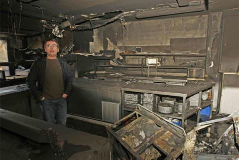 El fuego arrasa la cocina del restaurante Mugaritz