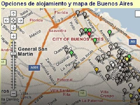 Planifica tu viaje y selecciona los hoteles con Google Maps y Facebook