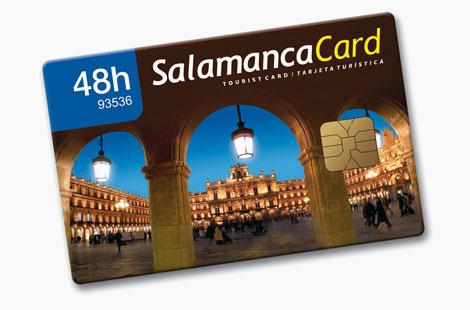 Salamanca presenta la tarjeta de 24 horas para el turista