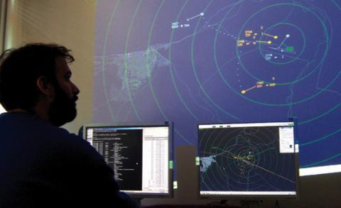 Matacán cuenta con un simulador de control aéreo pionero en España