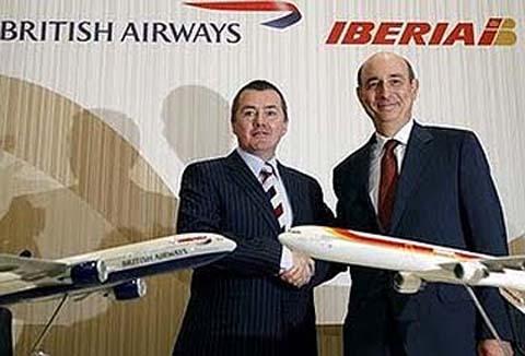 Iberia y British Airways, por fin, se fusionan