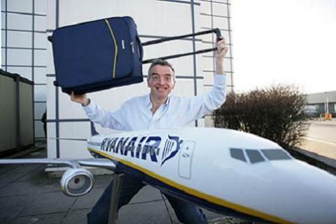 Samsonite diseña una maleta especial para los vuelos de Ryanair