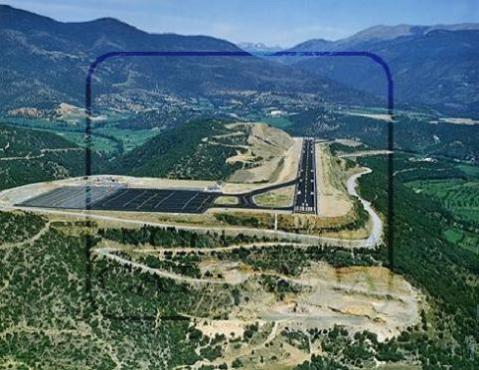 Reabre el aeropuerto de La Seu d'Urgell tras una amplia remodelación