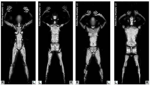 Los escáneres corporales podrían ser fáciles de burlar