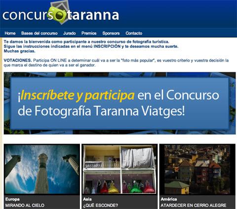 XVII concurso de fotografía turística de Tarannà