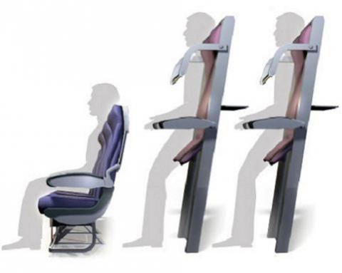 Ryanair quiere vender plazas para volar de pie