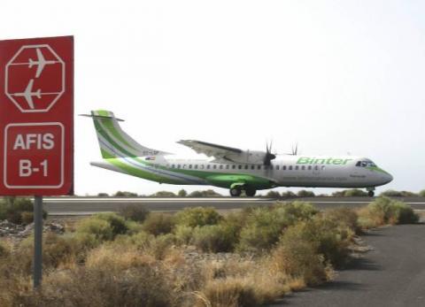 Primer día del AFIS, grave incidente aéreo en El Hierro