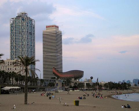 Barcelona una de las diez mejores ciudades con playa del mundo