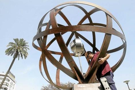 La 'milla 0′ de la vuelta al mundo ya tiene monumento