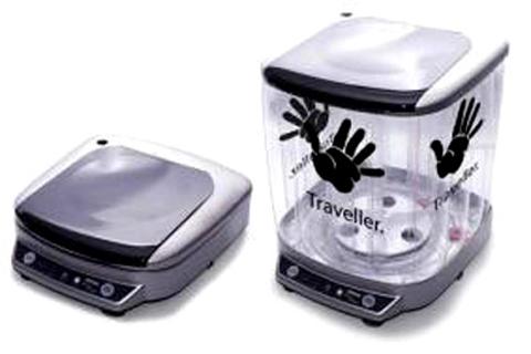 Lavadora portátil para viajar siempre limpio