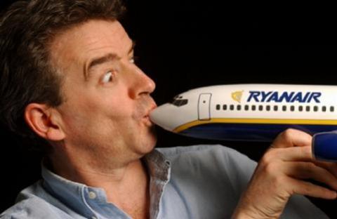Ryanair vuelve a ser multada por otra ocurrencia de su presidente