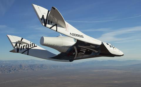 La primera nave espacial para turismo ya está en pruebas