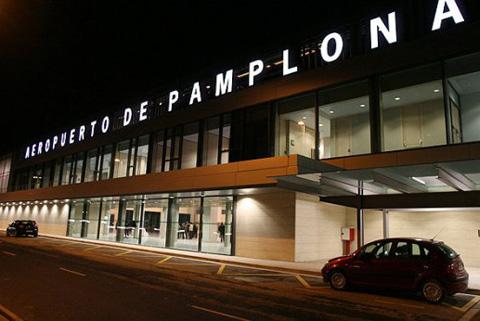 Lista la nueva terminal del aeropuerto de Pamplona