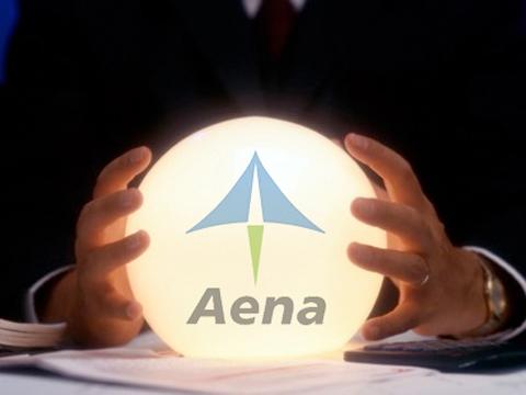 Concentración contra la privatización de Aena