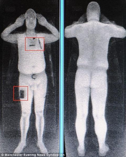 Pilotos estadounidenses contra el aumento de escáneres corporales