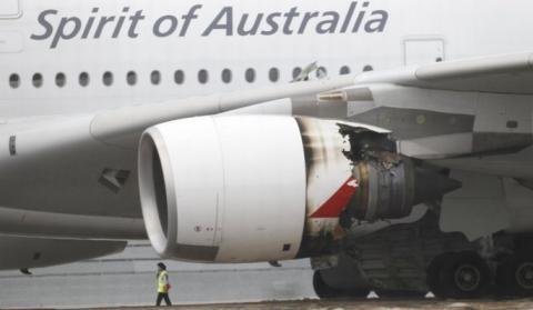 Susto aéreo con el gigante del cielo, un Airbus A380, de Qantas