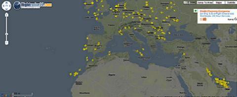 El tráfico aéreo vuelve a la normalidad poco a poco