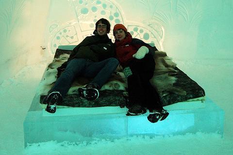 Hotel de hielo, una alternativa original para las vacaciones de Navidad