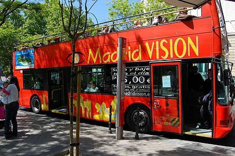 Suspendido el bus turístico de Madrid
