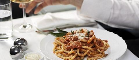 La mejor comida a bordo, la de Alitalia