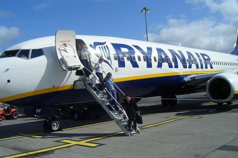 Ryanair no imprimirá tarjetas de embarque en el aeropuerto
