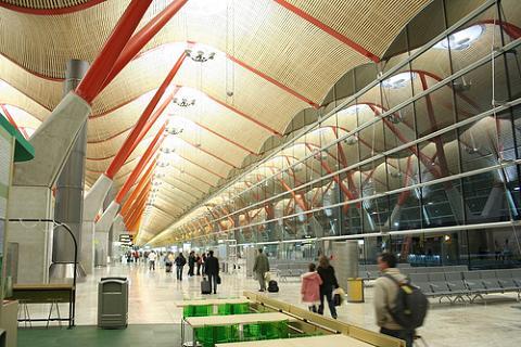 Acceso de seguridad en la T2 de Barajas exclusivo para Air France-KLM