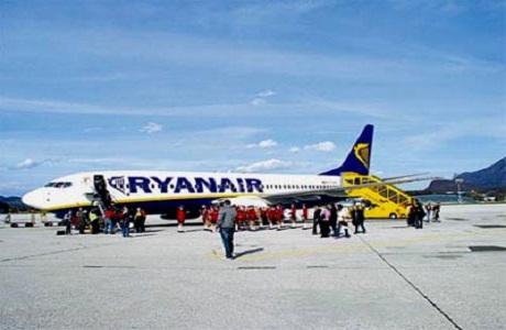 Ryanair vuelve a operar la ruta entre Valladolid y Bérgamo