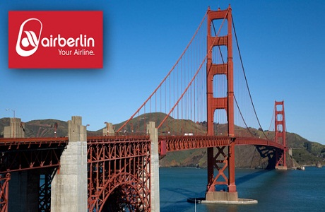 Air Berlin conectará Barcelona con San Francisco y Cancún este verano