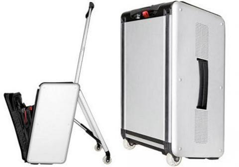 Tripsound, maleta y asiento con música