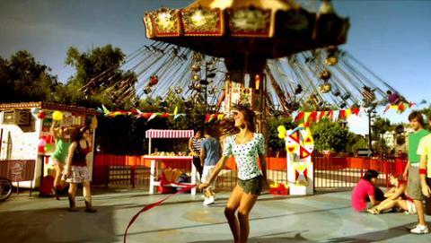 Disfrutar de un parque de diversiones
