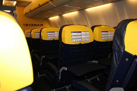 Ryanair permitirá reservar asiento en algunos vuelos