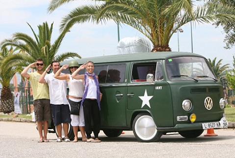 Concentración Furgovolkswagen en la Costa Brava
