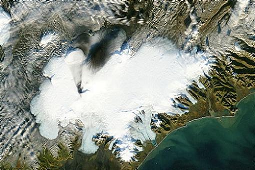 Erupción del volcán islandés Grimsvoent