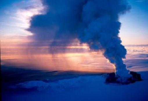Cenizas volcánicas Grímsvötn