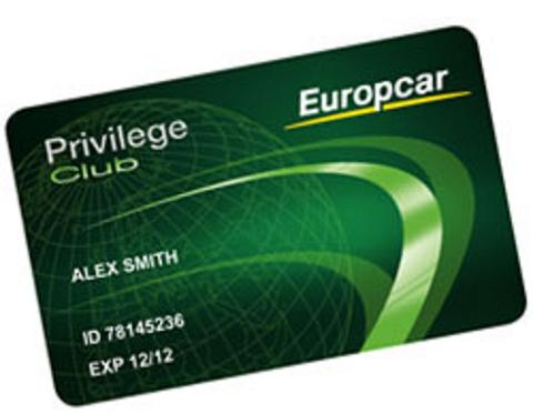 Nuevo programa de fidelización de Europcar: Privilege