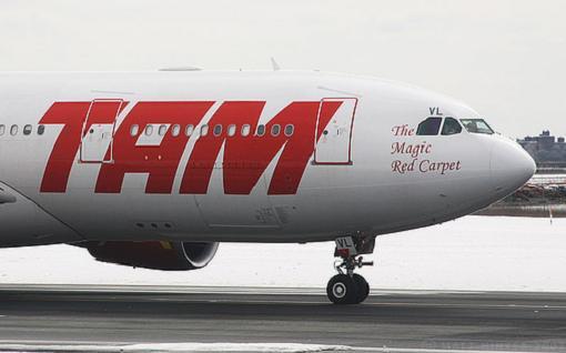 TAM elegida mejor compañía aérea