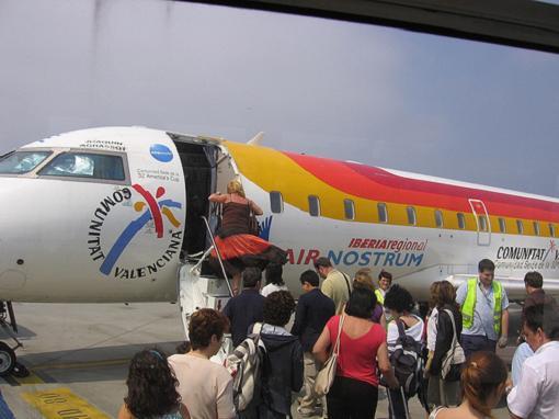 Air Nostrum vuela a las Islas Griegas