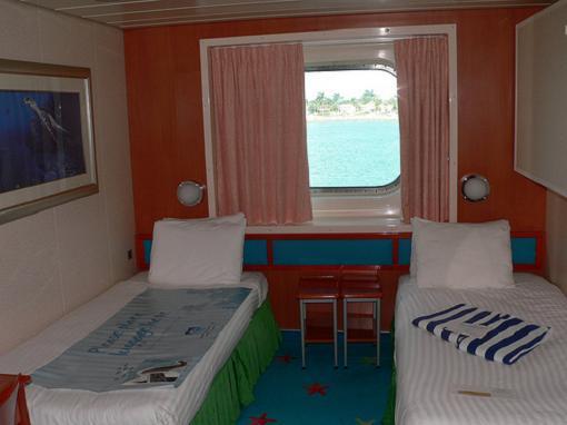 Nuevas cabinas en los barcos NCL