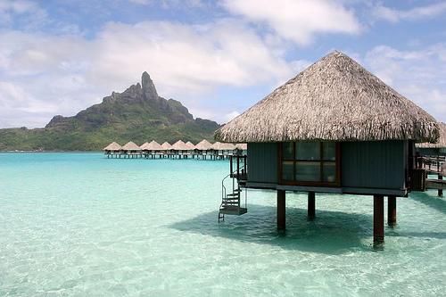 hotelflotante en Bora Bora