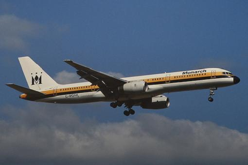 Monarch amplia operaciones Barcelona - Londres